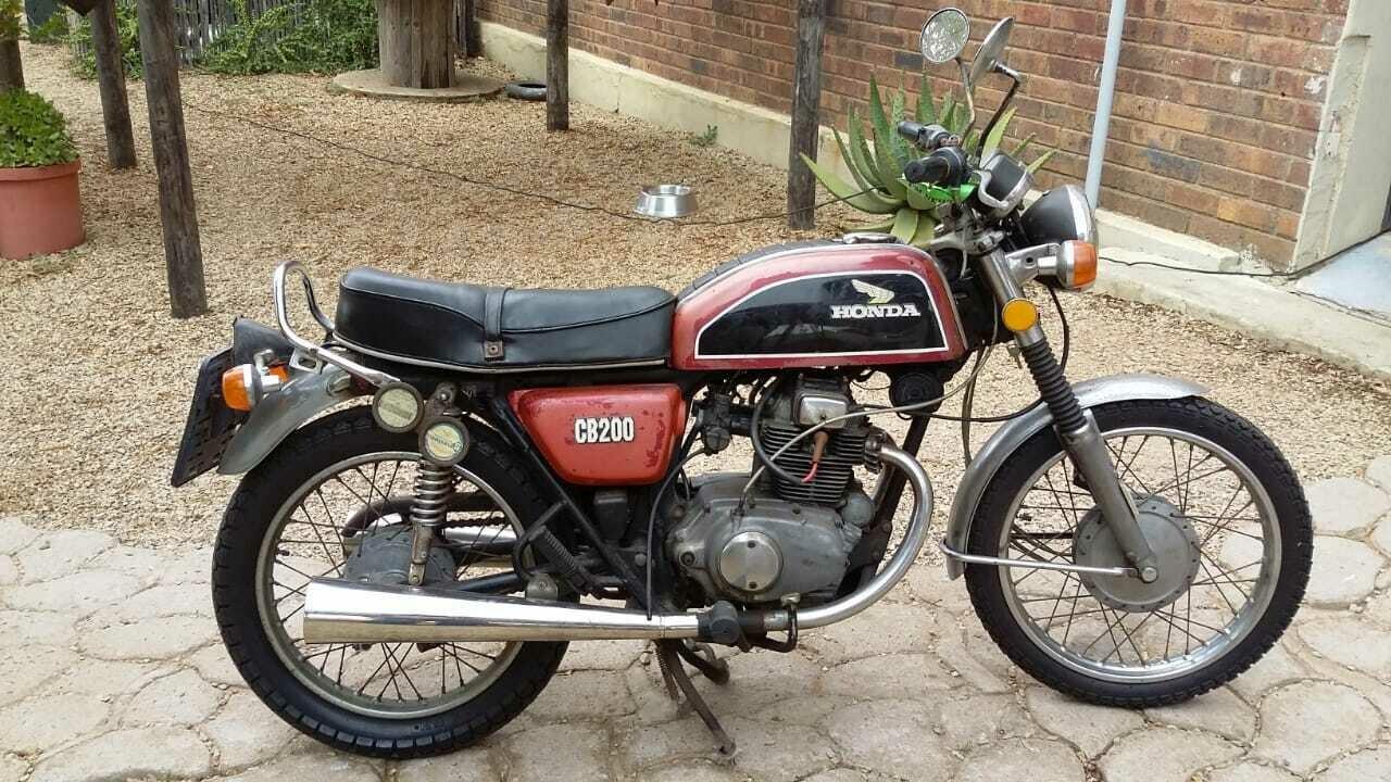 1974 Honda CB 200 collectors bike For Sale