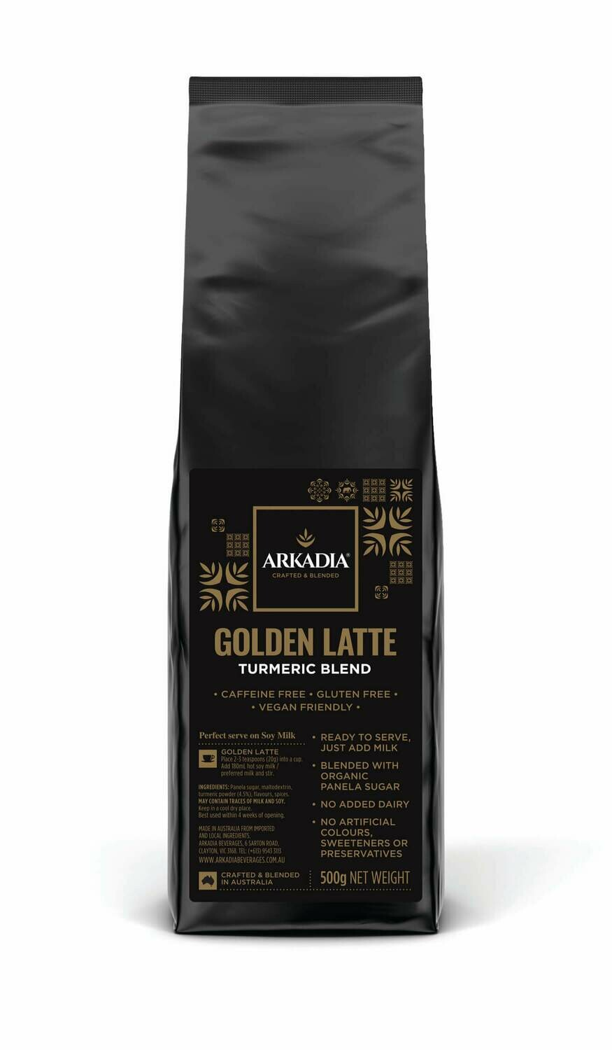 ARKADIA GOLDEN TURMERIC LATTE 500g