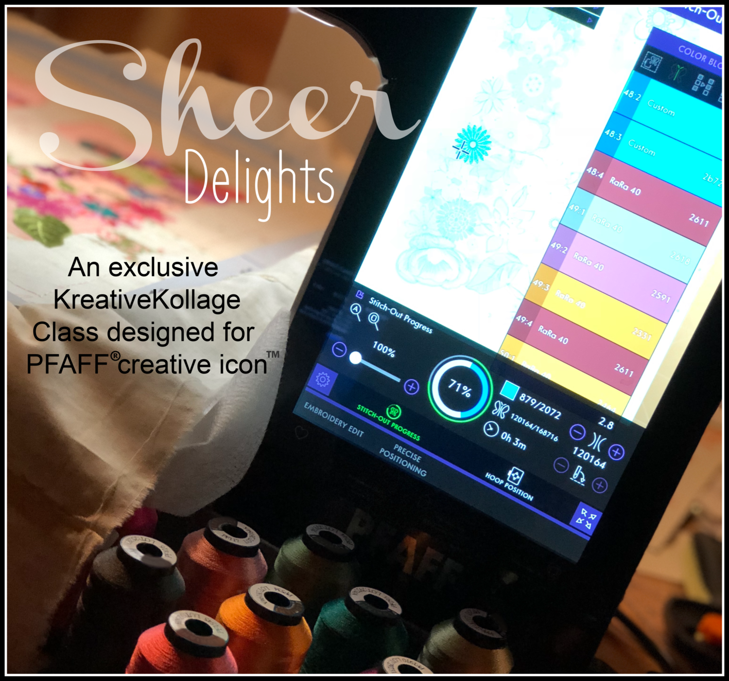 Sheer Delights Workshop