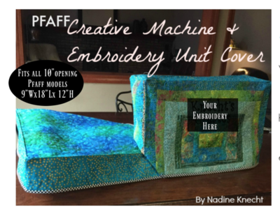 PFAFF Creative Machine Cover COMING SOON!