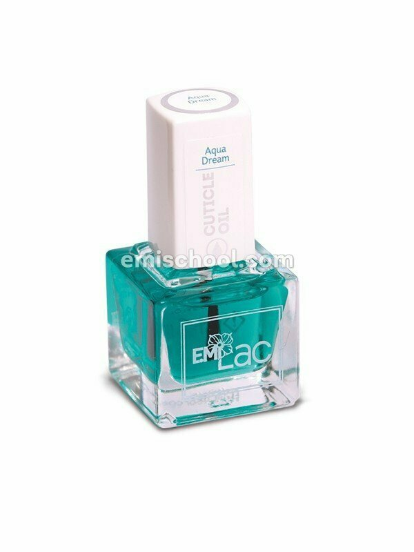E.MiLac Cuticle Oil Aqua Dream, 6/15 ml.
