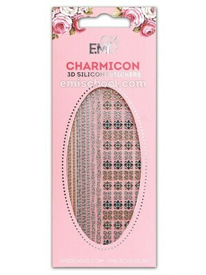 Charmicon 3D Silicone Stickers #78 Chains