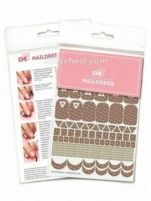 Naildress Slider Design #12 E.Mi Print