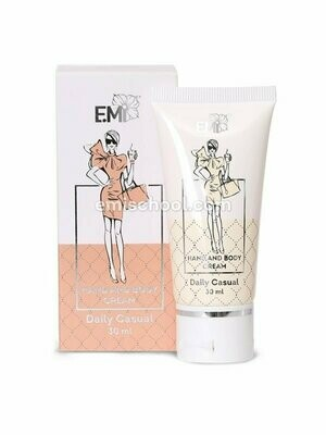 Hand and Body Cream Daily Casual, 30 ml