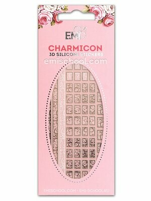 Charmicon 3D Silicone Stickers #75 Swirls