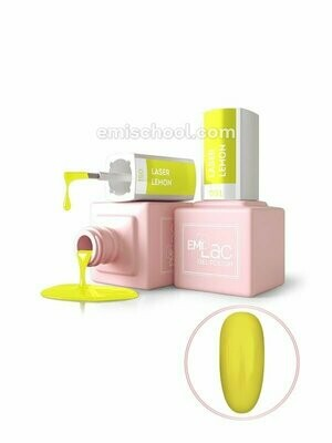 E.MiLac NEON- Laser Lemon #051, 9 ml.