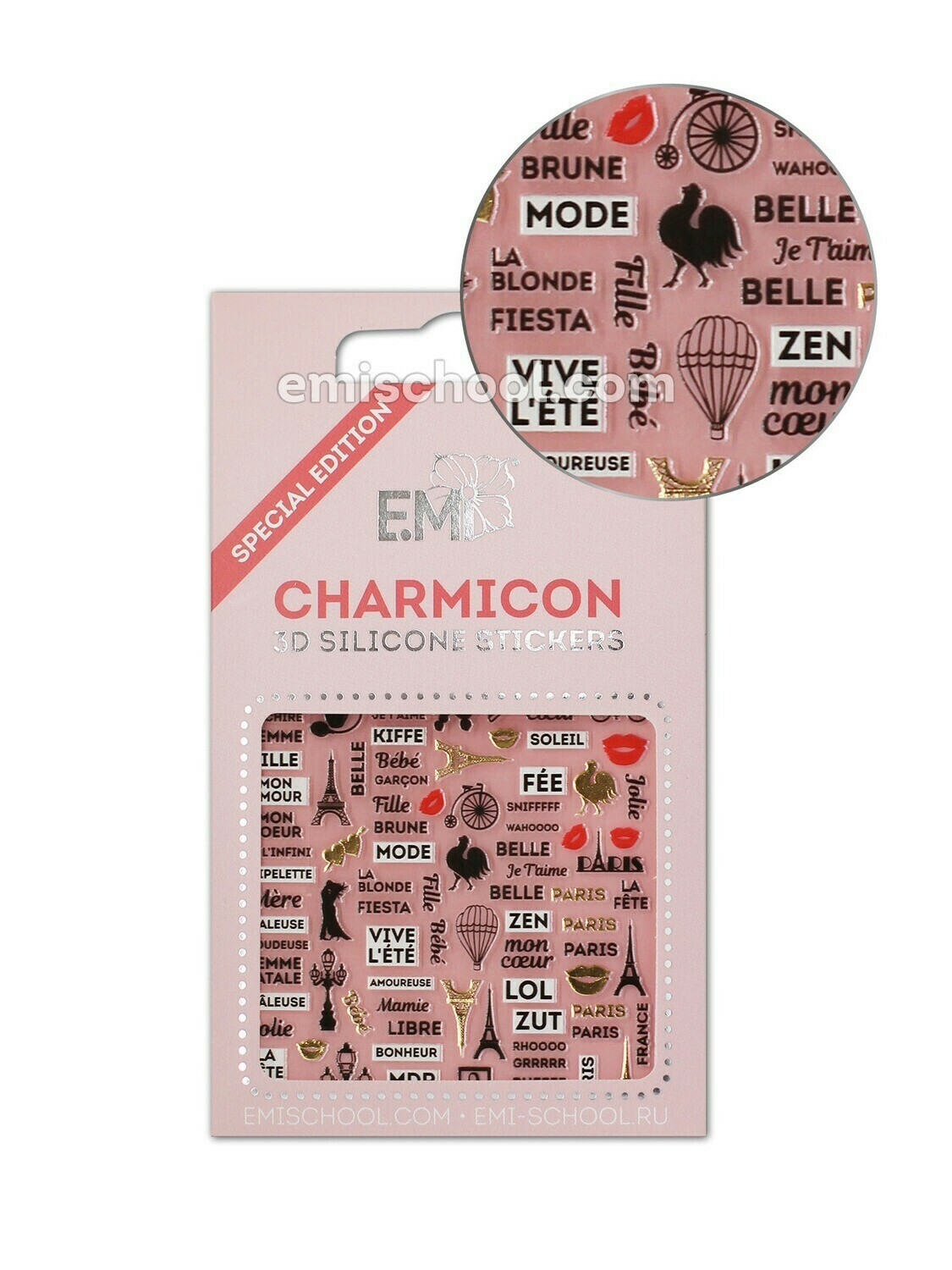 Charmicon 3D Stickers France 2