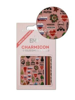 Charmicon 3D Stickers Russia 2