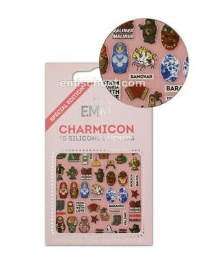 Charmicon 3D Stickers Russia 1