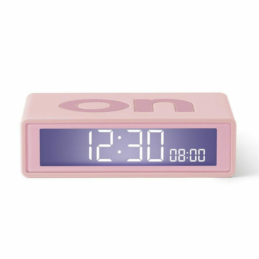 Flip Clock - Baby Pink