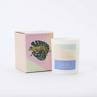 Soy Candle - Wild Fig & Honeydew