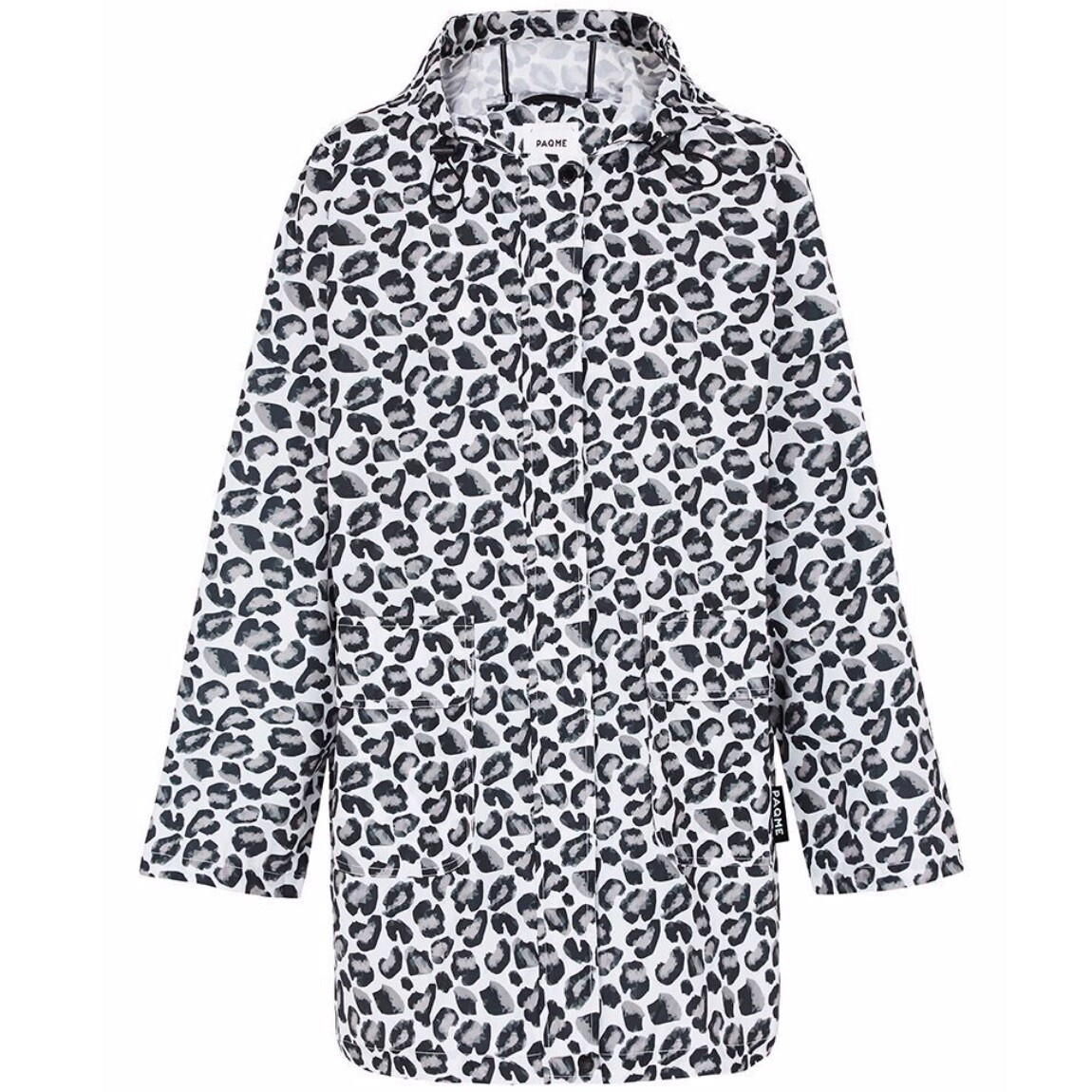 Womans Anyday Raincoat - Geo Leopard