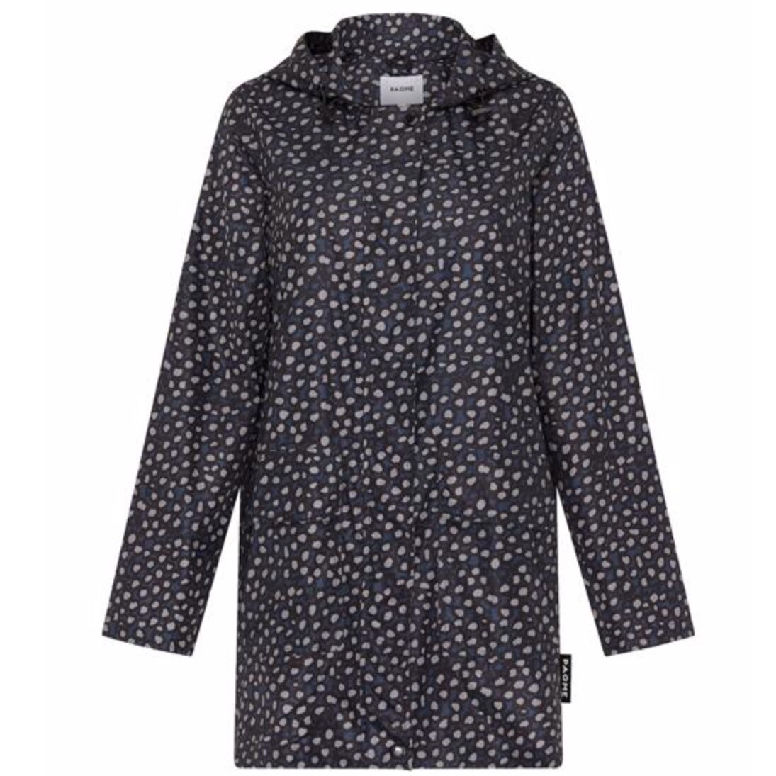 Womans Anyday Raincoat - Pebble Navy