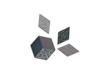 Rhombus Table Trivets - Stone - 6 pack