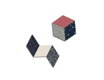 Rhombus Table Trivets - Desert - 6 pack