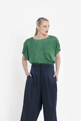 Lesja Shell Top - Spinach
