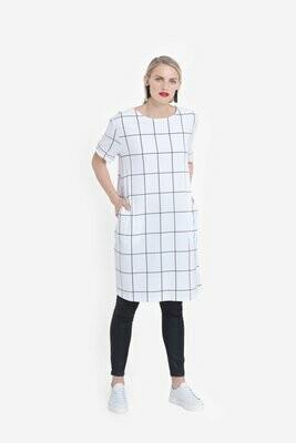 Trige Dress - White