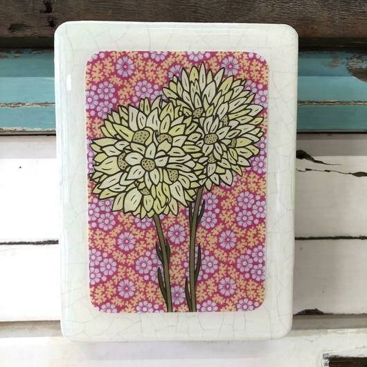Mini Woodblock - Pom Pom Everlasting