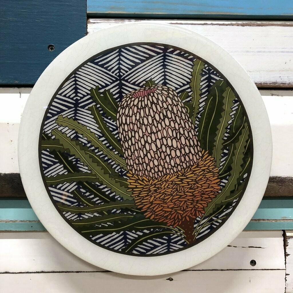 Roundy Woodblock - Banksia Hookeriana