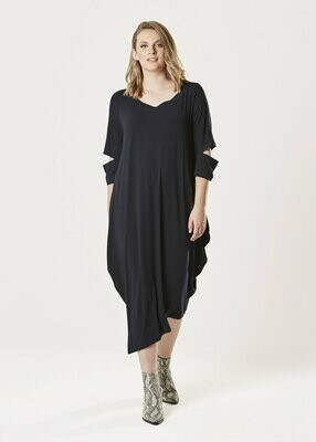 Kahlo Dress - Coal