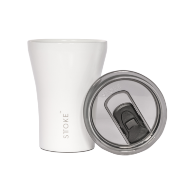 Coffee Cup - Angel White - Gloss