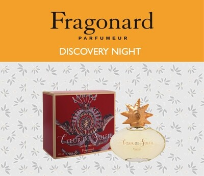 Fragonard Discovery Night - 5th Sep 2019