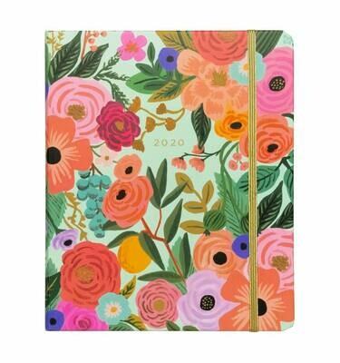 2020 Planner - Hardcover - Spiral - Floral