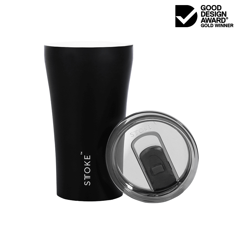 Coffee Cup Large - Black - Matt
