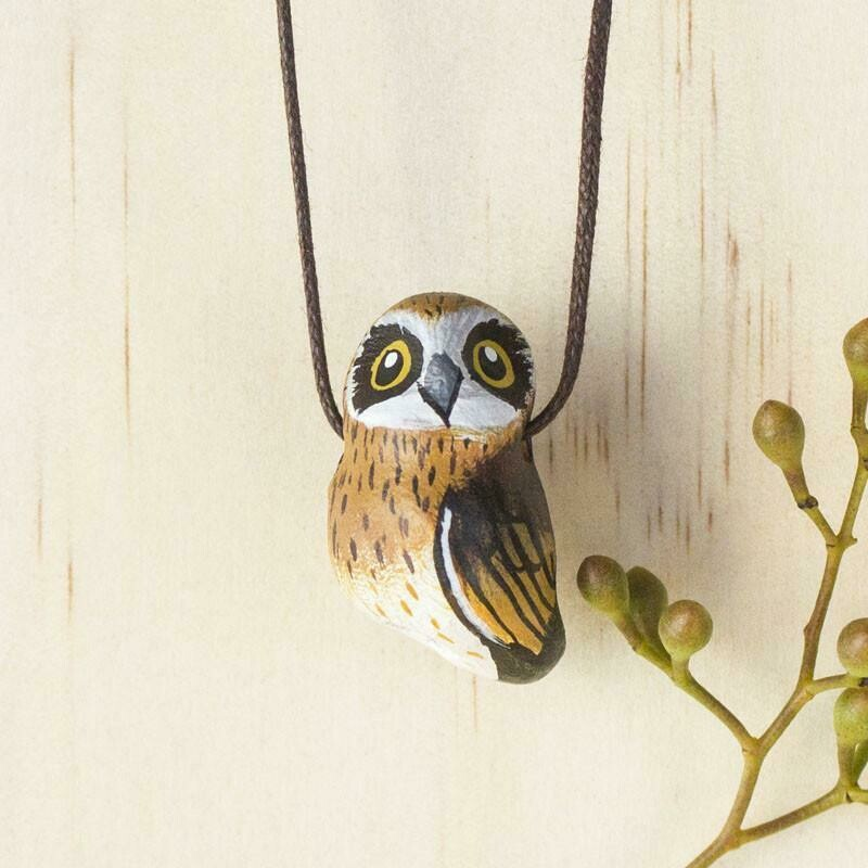 Whistle Necklace - Boobook Owl