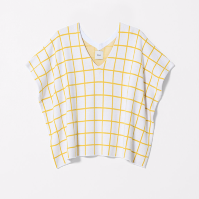 Lalm Sweater - White/Yellow