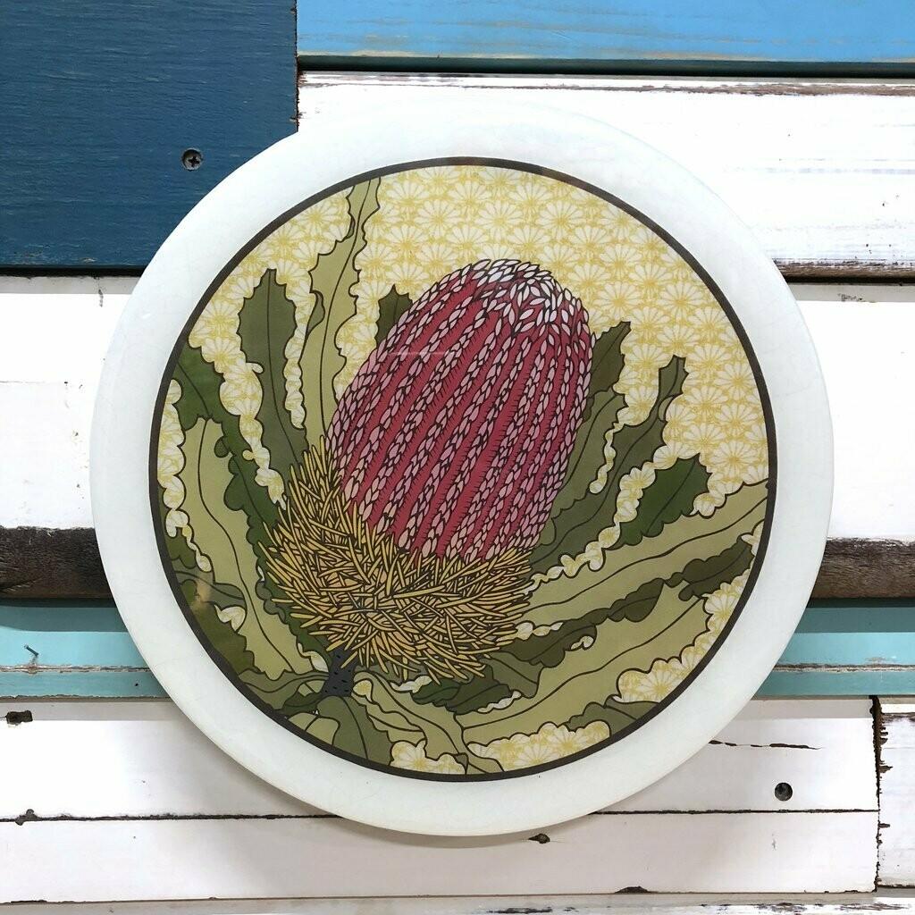 Roundy Woodblock - Banksia Menziesii