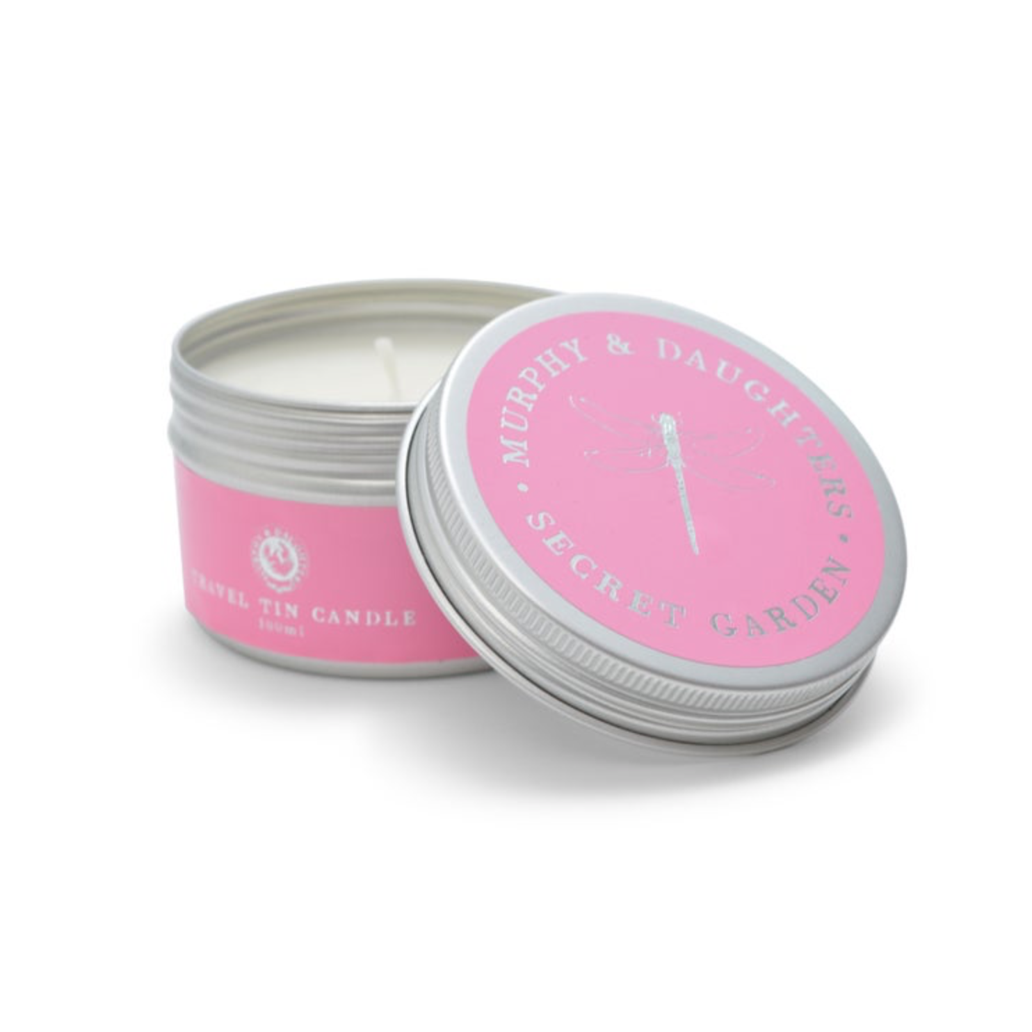 Candle - Travel Tin - Secret Garden