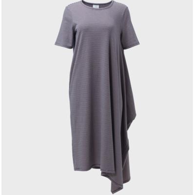 Halina Dress - Pink / Navy