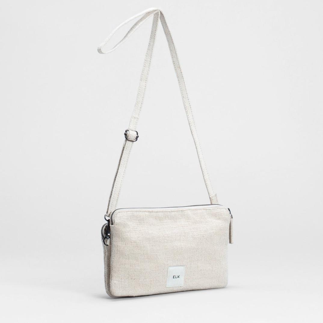 Franca Clutch Bag - Off White