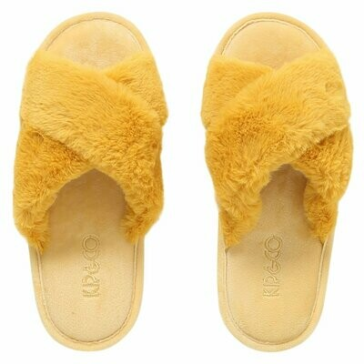 Adult Slippers - Sunshine Yellow