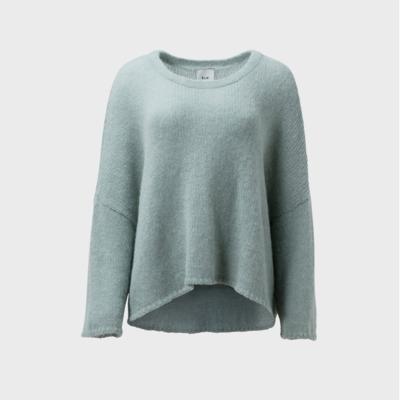 Agna Knit Sweater - Mint Green