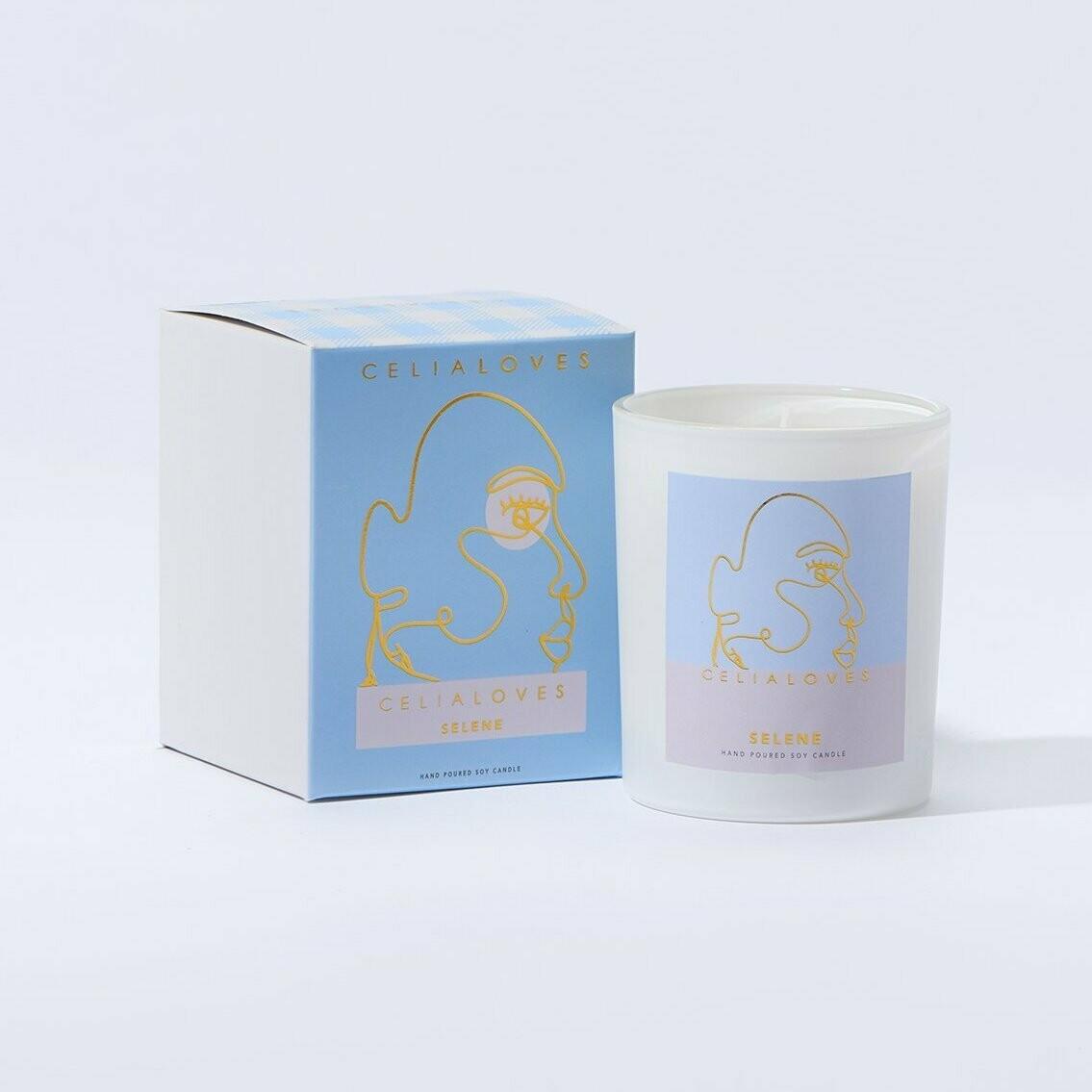 Soy Candle - Selene - Goddess Of Night - 40hrs