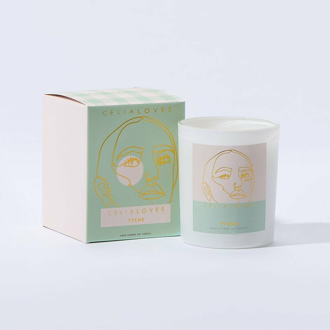 Soy Candle - Tyche - Goddess Of Fortune - 40hrs
