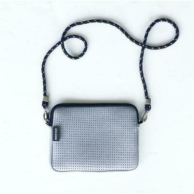 Pixie Neoprene Bag - Light Grey