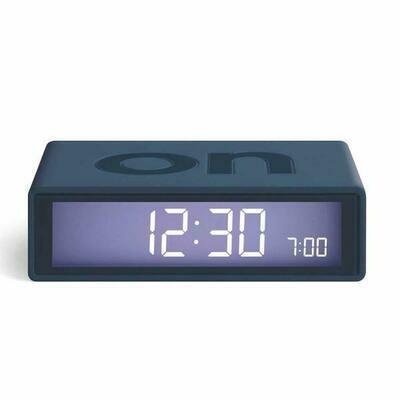Flip Clock - Dark Blue