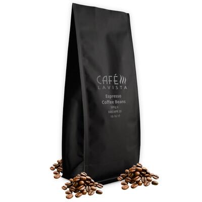 CAFÉLAVISTA Espresso Beans (5x 500g Bags)