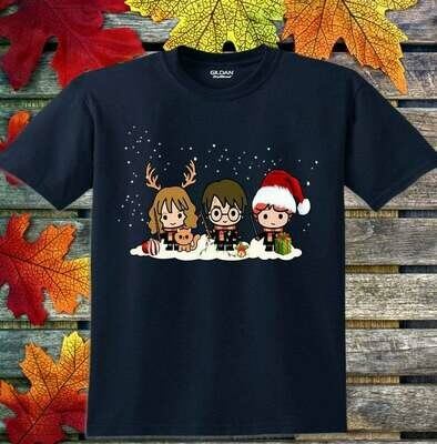 Christmas 2019 Hogwarts Castle Family Vacation Movie Fans T-Shirt, HARRY POTTER LOVER, HARRY POTTER GIFT, Harry Potter Glasses, Harry Potter Women, Harry Potter Party, Gift for best friend tee