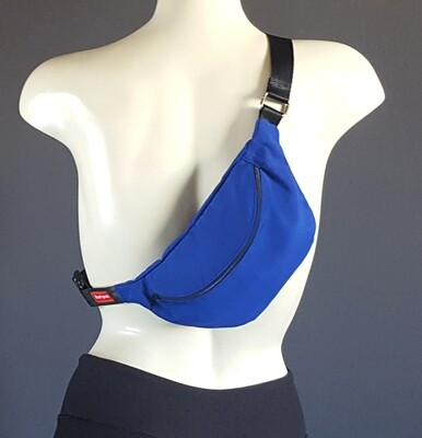 Solid Basketball Blue Fanny Pack