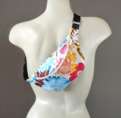 Summer Floral Fanny Pack