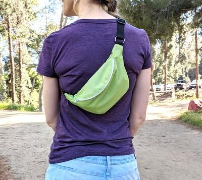 Sunbrella Parrot Green Fanny Pack