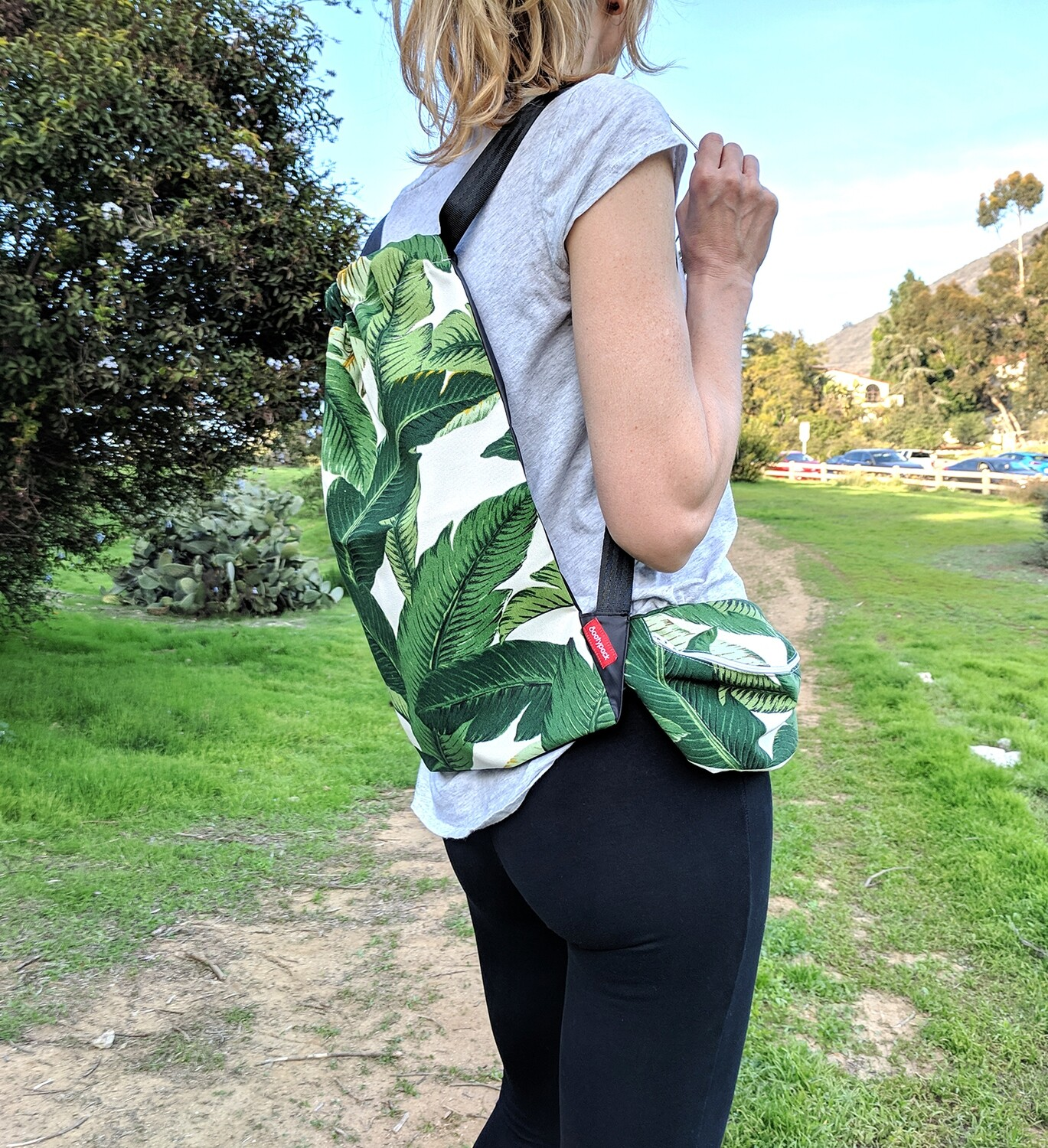 Tropical Jungle Green Bag Set