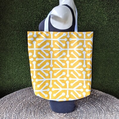 Yellow Shopper Tote