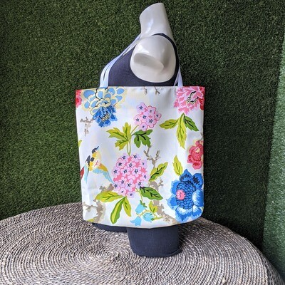 Summer Floral Beach Tote