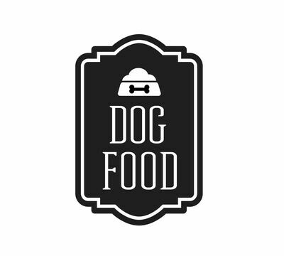 Dog Food Decal