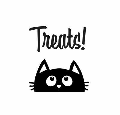 Cat Treats Decal